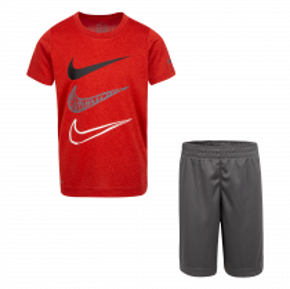 Nike Nkb Df Dropsets Tee/short Set 86G104-GAE